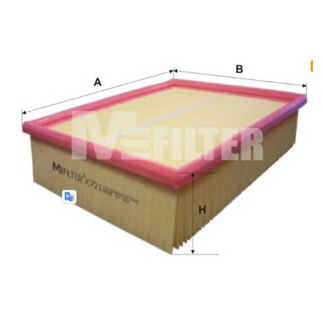 Воздушный фильтр MFILTER Ауди а4