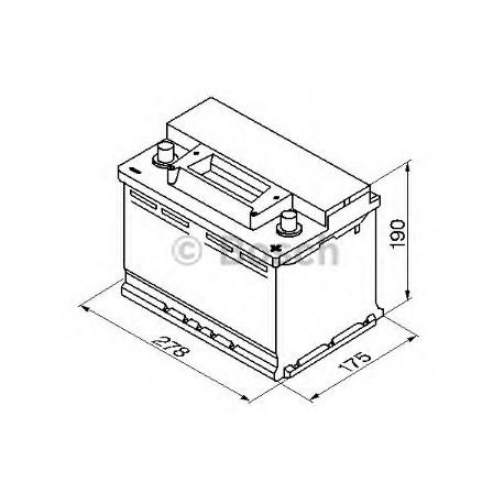 Аккумулятор BOSCH Audi A4 (8E2, B6)