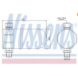 Осушитель кондиционера Audi 100 (4A, C4) 2.6