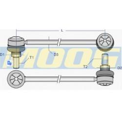 Соеденительная тяга стабилизатор Audi 100 (4A, C4)