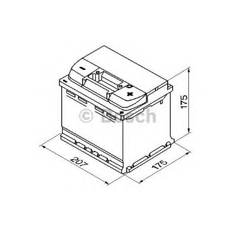 Аккумулятор BOSCH Audi 100 (4A, C4)