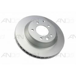 Диск тормозной задний Ауди Q7 диаметр 330