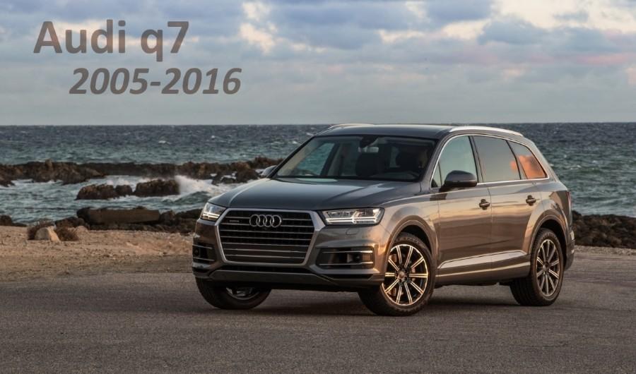 запчасти Audi q7